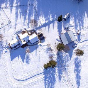 North Spokane Drone Photography Deer Park