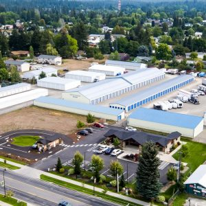 Hayden Storage North Idaho Coeur d'Alene Drone Photography