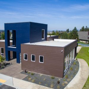 Jake at Indian Trail Architectural Drone Photography in Spokane