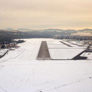 Spokane Felts Field Runway Approach