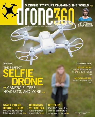 Spokane Drone Photography in Drone 360 Magazine