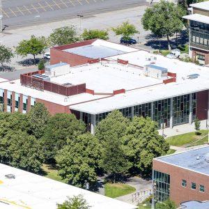 Aerial Photo of Spokane Falls Community College