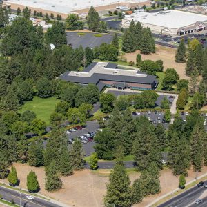 North Spokane Commercial Real Estate Aerial Drone Photographer