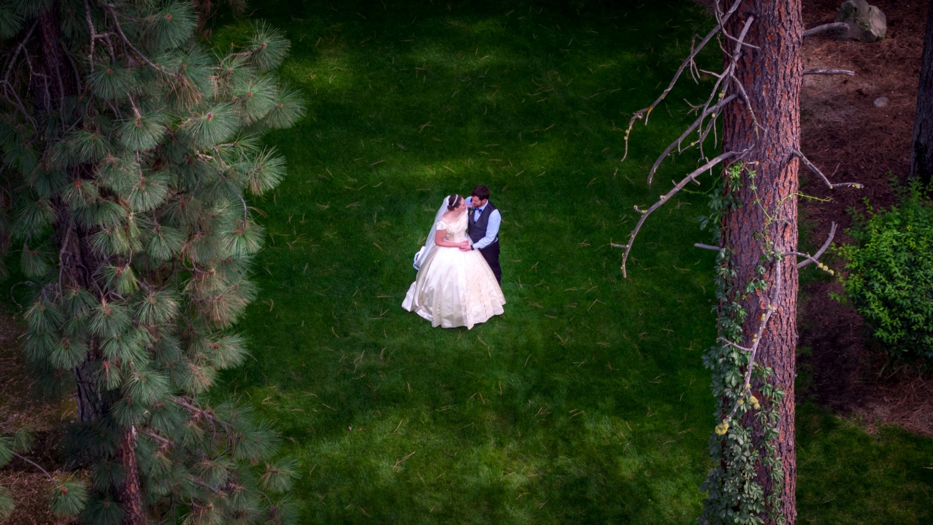 Drone wedding photograpy spokane drone photography uav for Best drone for wedding video