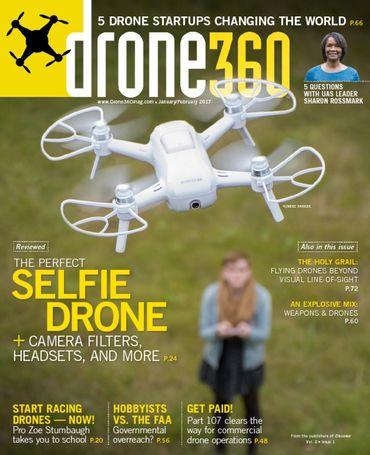 Spokane Drone Photography in Drone 360 Magazine