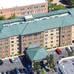 Aerial Photo of Hawthorne Suites Downtown Spokane